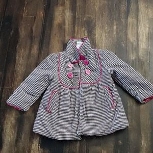 *BOGO* Toddler girls plaid coat